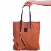 Shopper bag with purse
